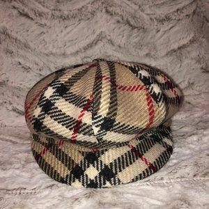 Burberry Vintage Check Newspaper Boy Hat